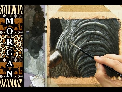 How to paint an elephant, Skin, Wrinkles, Painting Tutorial - Jason Morgan -, speed painting