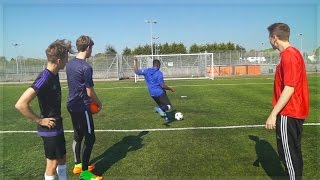 SDMN VS YTAS: FOOTBALL CHALLENGES!!