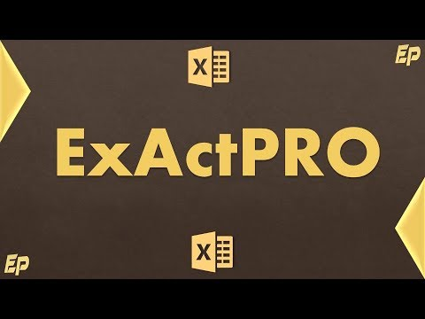 Welcome to ExactPRO (PRO Excel Tips for Accounting and Finance)