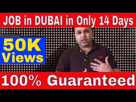 Find Dubai Job in 14 Days 100% Guaranteed. Find a job in Dubai, Download CV for Dubai Jobs
