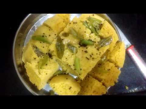 Besan ka dhokla without dahi#perfect sponge dhokla#5 min microwave recipe