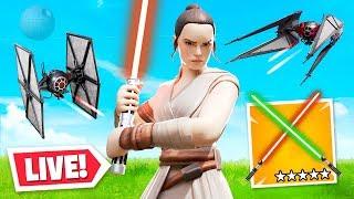 Star Wars X Fortnite *LIVE* EVENT!