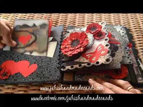 Romantic/Love/Valentine's Day scrapbook