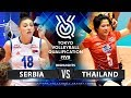 SERBIA Vs THAILAND HIGHLIGHTS Womens Volleyball Olympic Qualifying Tournament 2019