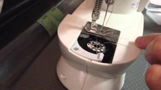 Fhsm 202a Mini Sewing Machine Bobbin Threading