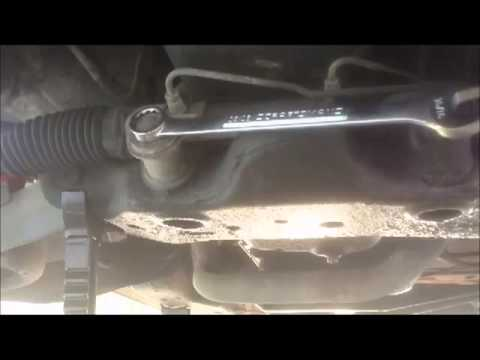 How To Replace A Power Steering Rack and Pinion (part 1 removal)