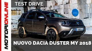 Nuovo Dacia Duster MY 2018 | Anteprima Test Drive