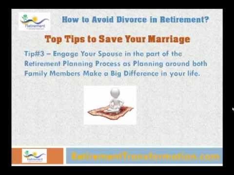 How to Avoid Divorce After Retirement? - Save Your Marriage after Retirement!