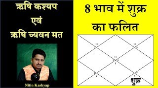 Effect of Venus in Eighth House || अष्टम भाव में