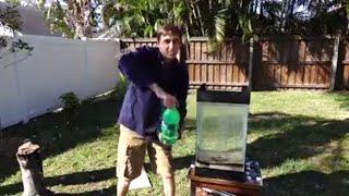 Molten Aluminum Vs. 15 gallons of Sprite