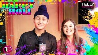 Damanpreet & Tunisha Sharma Celebrate Holi With Telly Reporter | Sher-E-Punjab Maharaj Ranjit Singh
