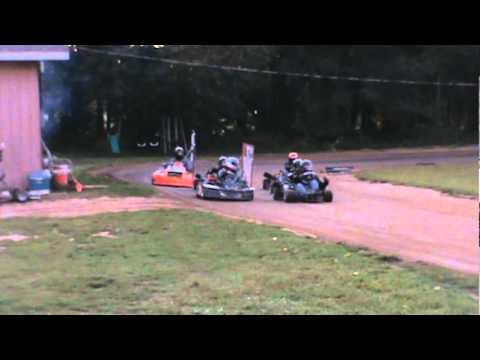 backyard go kart racing