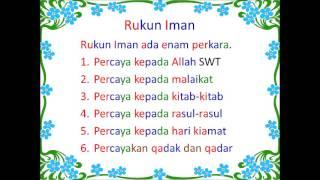 Mari Mengenal Rukun Islam dan Rukun Iman