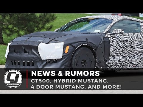 What we know about the GT500 | Hybrid & 4 Door Mustang Rumors!
