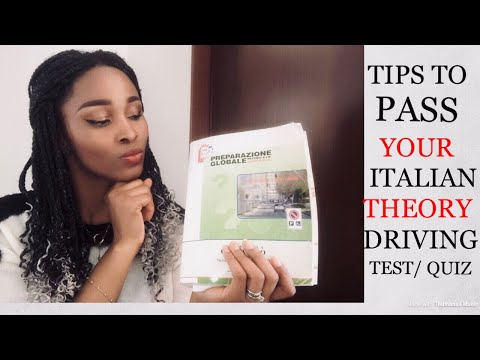How To Pass Your Europan ( Italian) Theory Driving License Exam Fast | Tips To Know