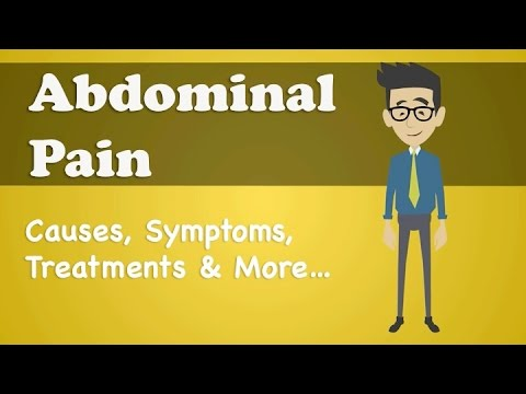Abdominal Pain - Causes, Symptoms, Treatments & More…