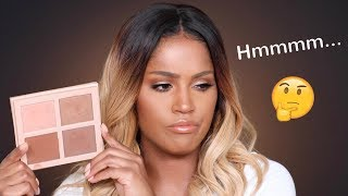 Kim Kardashian: KKW Beauty Highlight & Contour Powder Review