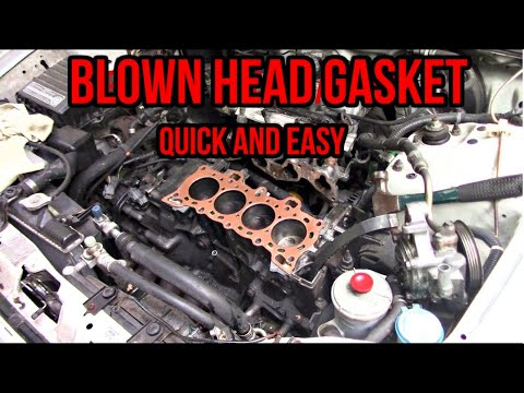 How to Replace a Head Gasket  | 1994 Honda Civic DX
