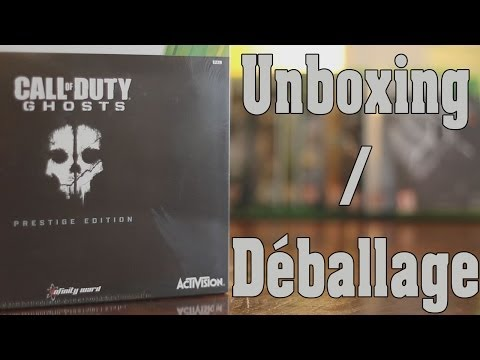 Pack Prestige Call Of Duty Ghosts│Déballage/Unboxing
