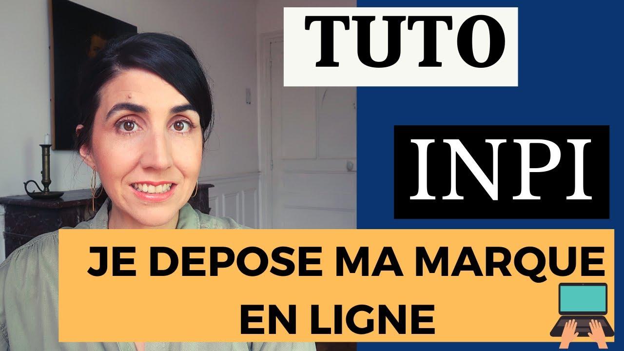 TUTO : comment déposer sa marque sur le site de l'INPI