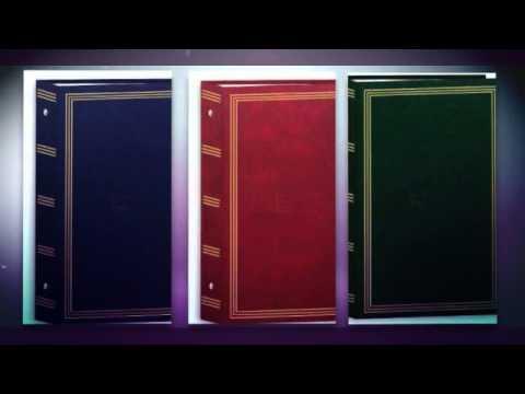 3-ring pocket BURGUNDY album for 504 photos - 4