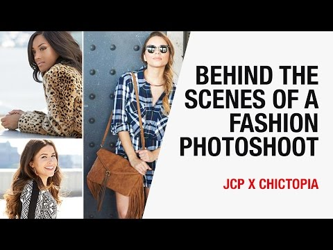 Behind the Scenes of a Fashion Photoshoot in NYC | Chictopia