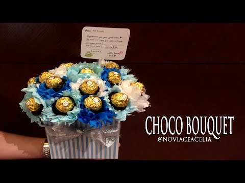 CHOCO BOUQUET BOX TUTORIAL