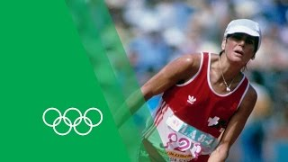 An Unforgettable Marathon Finish - Gabriela Andersen-Schiess | Moments In Time