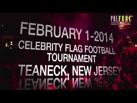 Join PreFunc at the Celebrity Flag Football Tournament in Teaneck, NJ!