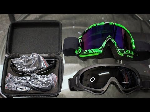 Riding Goggles Review | KEMIMOTO Motocross & Street