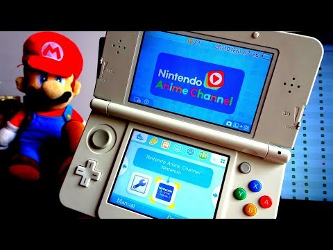 Unblock the 3DS Nintendo Anime Channel to Region Free with Proxy Settings