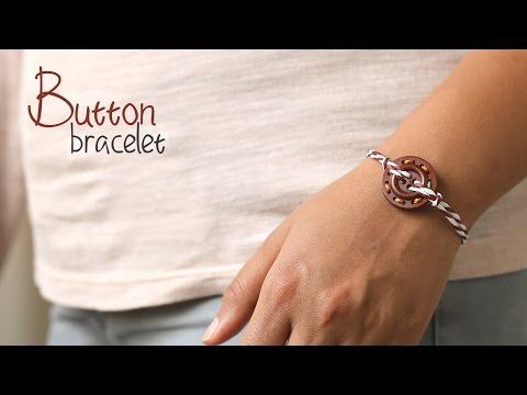 How to make Easy Button Bracelet