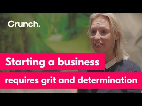 Starting a business requires grit and determination