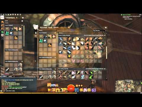 Guild Wars 2 Crafting Guide Series - Storage