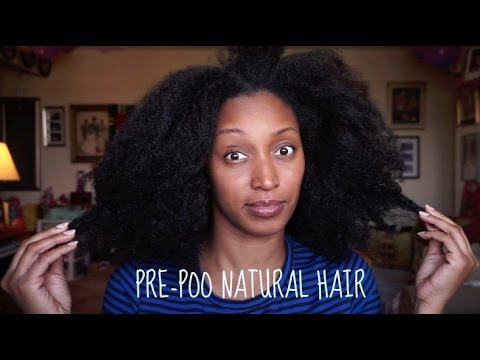 How I Pre-Poo my Natural Hair