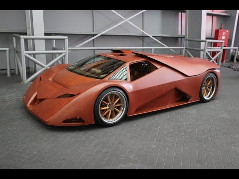 Splinter - Der Holz-Sportwagen - The wooden sports car