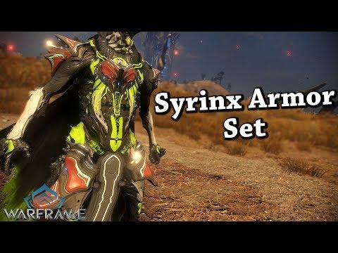 Warframe | Syrinx Armor Set