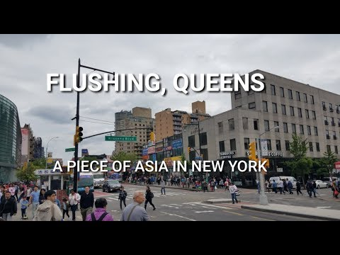 A Piece of Asia in New York? - Flushing, Queens