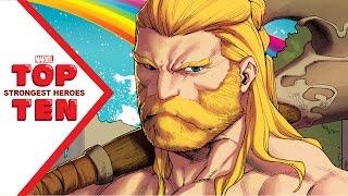 Marvel Top 10 Strongest Heroes