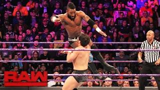 Cedric Alexander, Jack Gallagher & TJ Perkins vs. Neville, Tony Nese & Noam Dar: Raw, Feb. 6, 2017