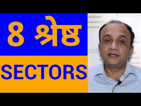 Stock Market - 8 Best Performing Sectors | HINDI