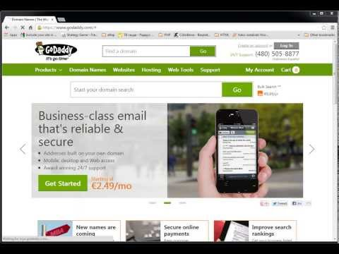 Install WordPress on a Godaddy Hosted Domain - Simple and Fast