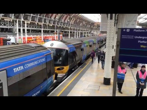 Heathrow Express - Heathrow to Paddington - 16/03/16