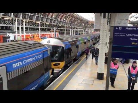 Heathrow Express - Heathrow to Paddington - 16/03/16