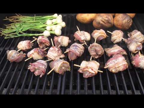 Cooking Doves - On the Grill