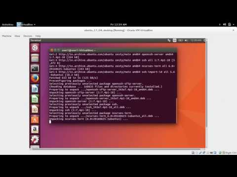 How to Install ssh on Ubuntu 18.04 17.04 16.04 and enable ssh