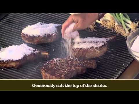 Secrets of the World's Best Grilling: Basque Country Salt-Crusted Rib Steaks