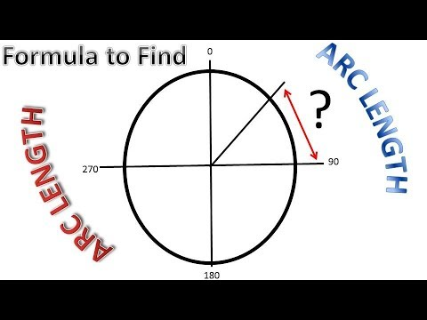 Formula To Get ARC LENGTH of Degrees - PipingWeldingNonDestructiveExamination-NDT