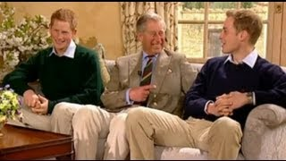 Prince William, Prince Harry & The Prince of Wales interview with Ant and Dec