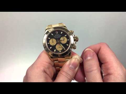 How to Set the Time for the Rolex Cosmograph Daytona